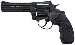 "Револьвер флобера STALKER S 4 мм 4,5"" чёрн. рук.(силумин.барабан)"