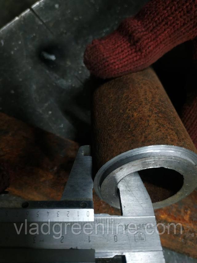 Товщина стінки труби на валах фрези Буковинка