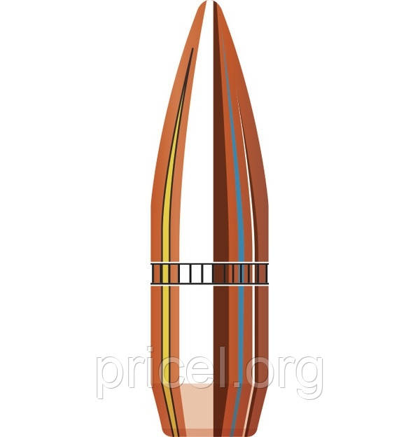 Пуля Hornady FMJ-BT .30 150 gr/9.72 грамм 100 шт. (3037)