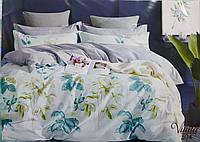 Комплект постельного белья сатин Євро