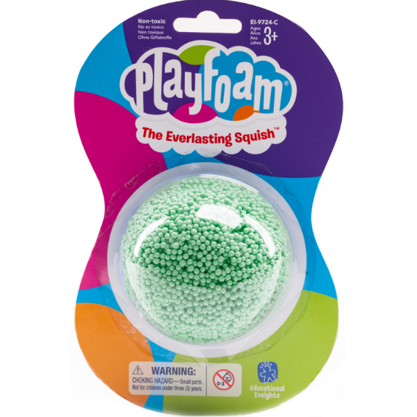 Playfoam Кульковий пластилін класичний зелений classic