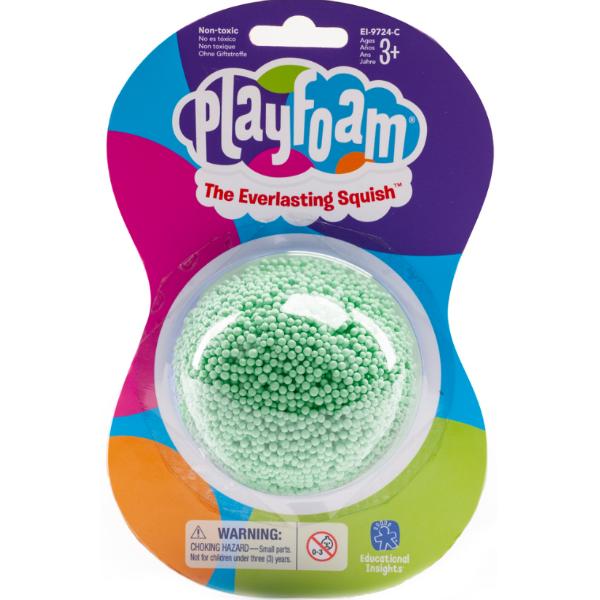 Playfoam Шариковый пластилин классический зеленый classic