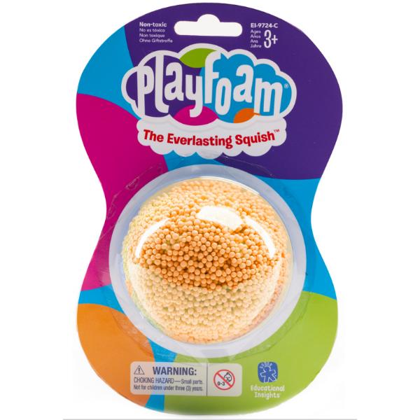 Playfoam Кульковий пластилін класичний помаранчевий classic