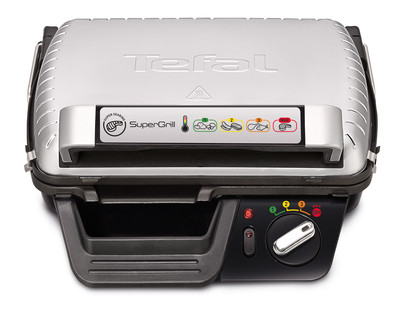 Электрогриль прижимной TEFAL SuperGrill GC450B32 2000 Вт