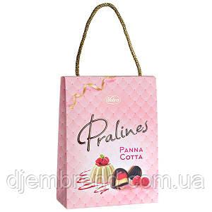 Шоколадні цукерки Vobro Pralines Panna Cotta в сумочці, 200 гр.