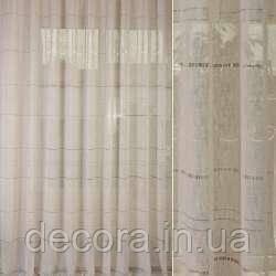 Римська штора льон гардинний, фото 2
