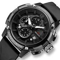 Оригинальные мужские наручные часы из нержавеющей стали модные для мужчин с кварцевым механизмом