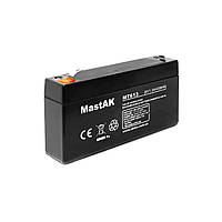 Аккумуляторная батарея MastAK MT613 6V 1.3Ah свинцово- кислотная герметичная SLA
