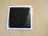 Наклейка s силиконовая Полоса 60х60х1,2мм черная квадрат без надписи на авто, фото 3