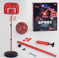 """Баскетбольный набор YF TOYS """"Basketball"""" стойка с кольцом + баскетбольный мяч, в коробке  YF 8808-1"""