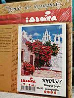 """Картина по номерам """"Цветущая Греция"""" 40*50см"""