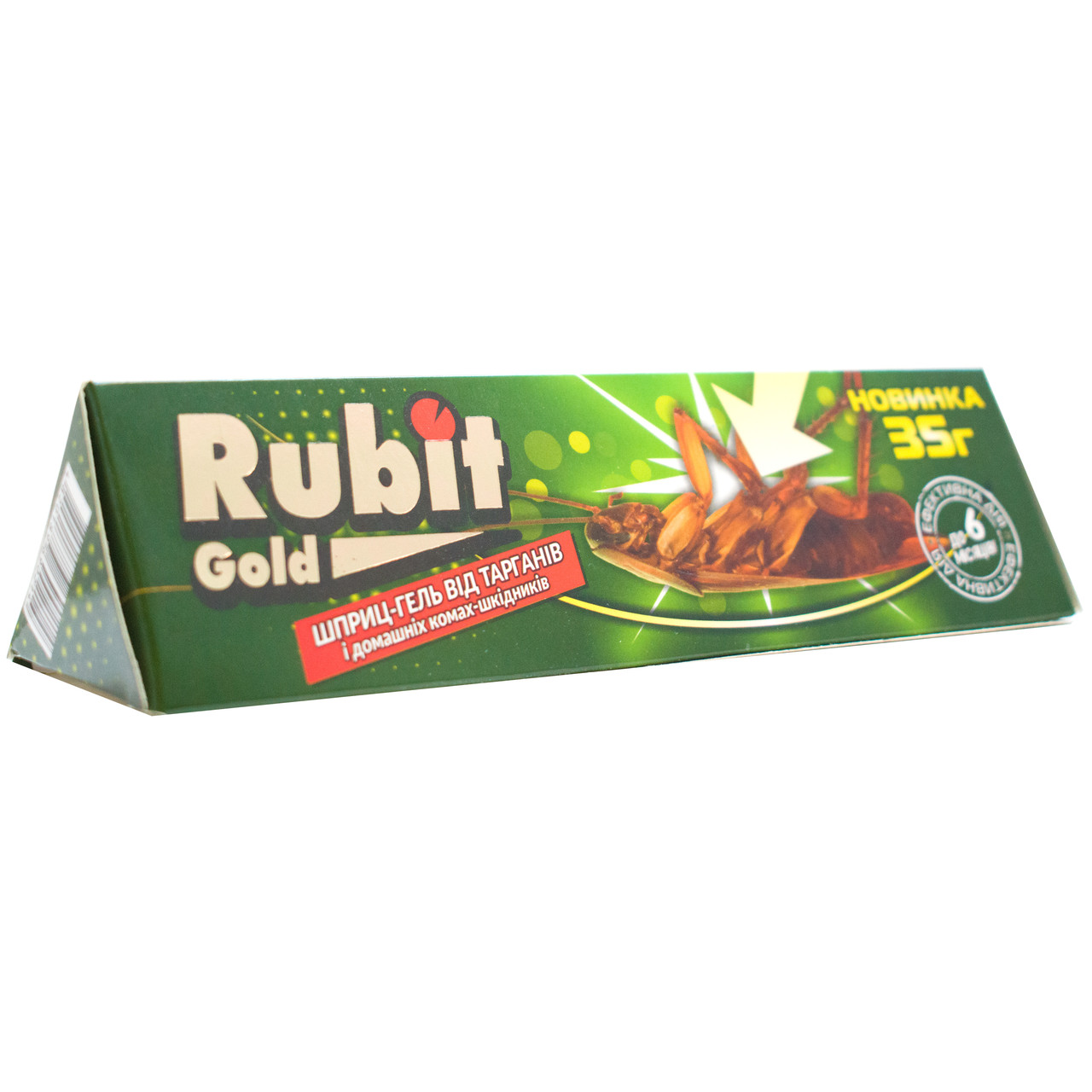 Гель от тараканов и муравьев Rubit gold 35 г