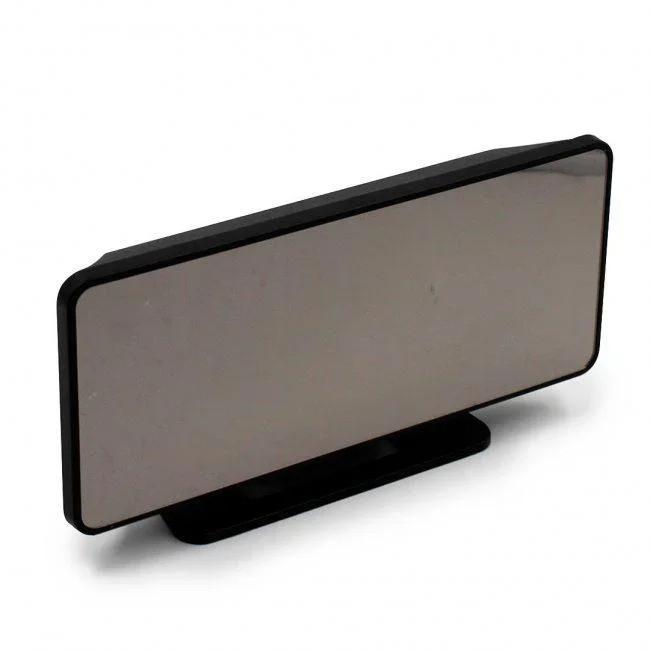 Настольные зеркальные часы led mirror clock VST 888 с подсветкой зеленая (0188unk)