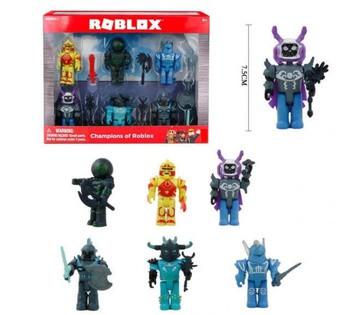 Набор героев РОБЛОКС Roblox с оружием в наборе 6 штук PS 1830 B