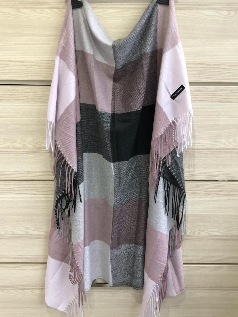 Кашемировый теплый платок Cashmere 213023