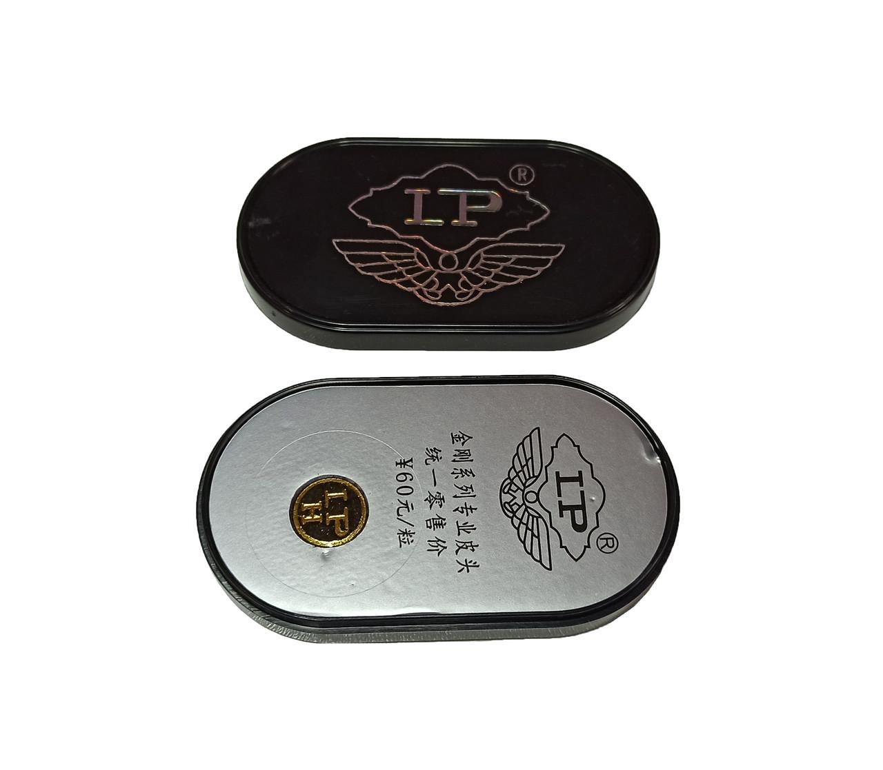 Наклейка многослойная LP silver 10мм, 1шт