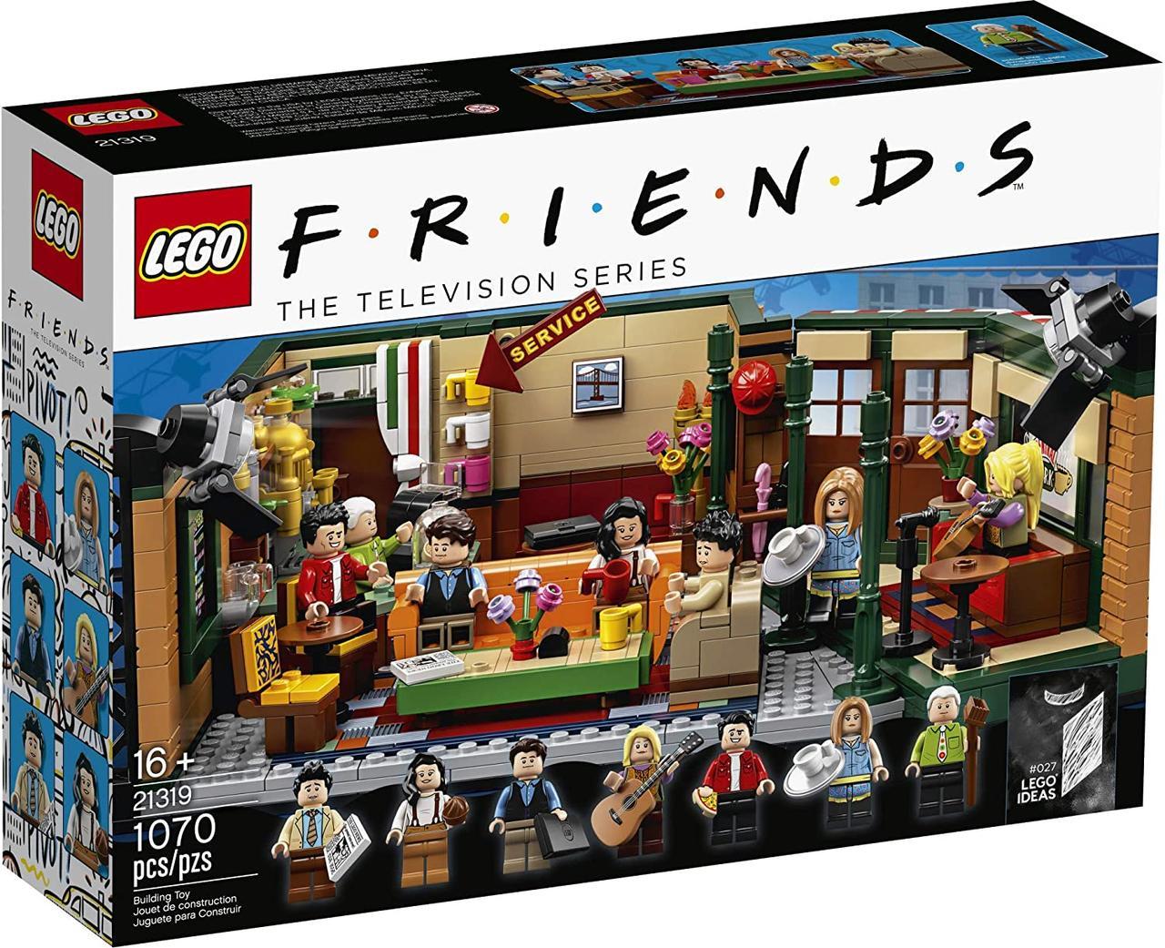 Лего френдс Центральная кофейня (Центральный парк Кафе Друзей) LEGO Ideas Central Perk (21319)
