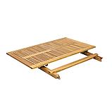 Стіл обідній розкладний  FINLANDIA ,стіл 110х75х72 см, фото 2