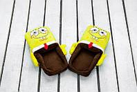 Мягкие домашние тапочки SpongeBob