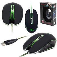 IT/mouse Gembird MUSG-001-G зеленая