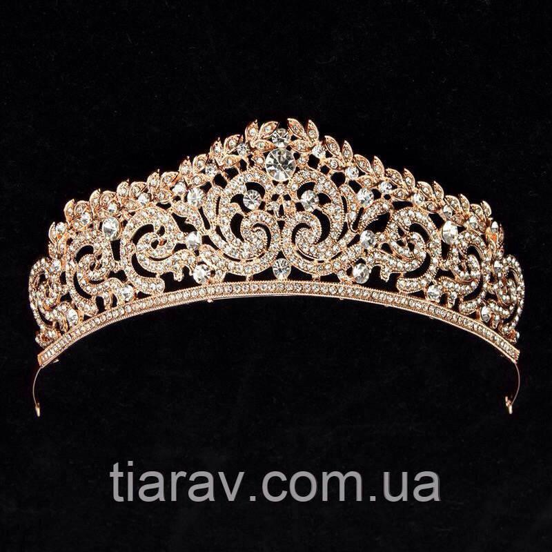 Тиара ,корона , СИНДИ ,диадема ,для волос свадебная диадема для волос