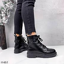 Мягкие кожаные ботинки 11452 (ЯМ), фото 2