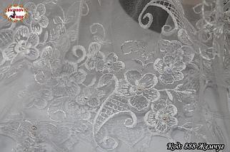 Свадебный платок с жемчугом Люси, фото 2