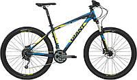 Велосипед Giant Talon 27.5 3 LTD желто-голубой 2016
