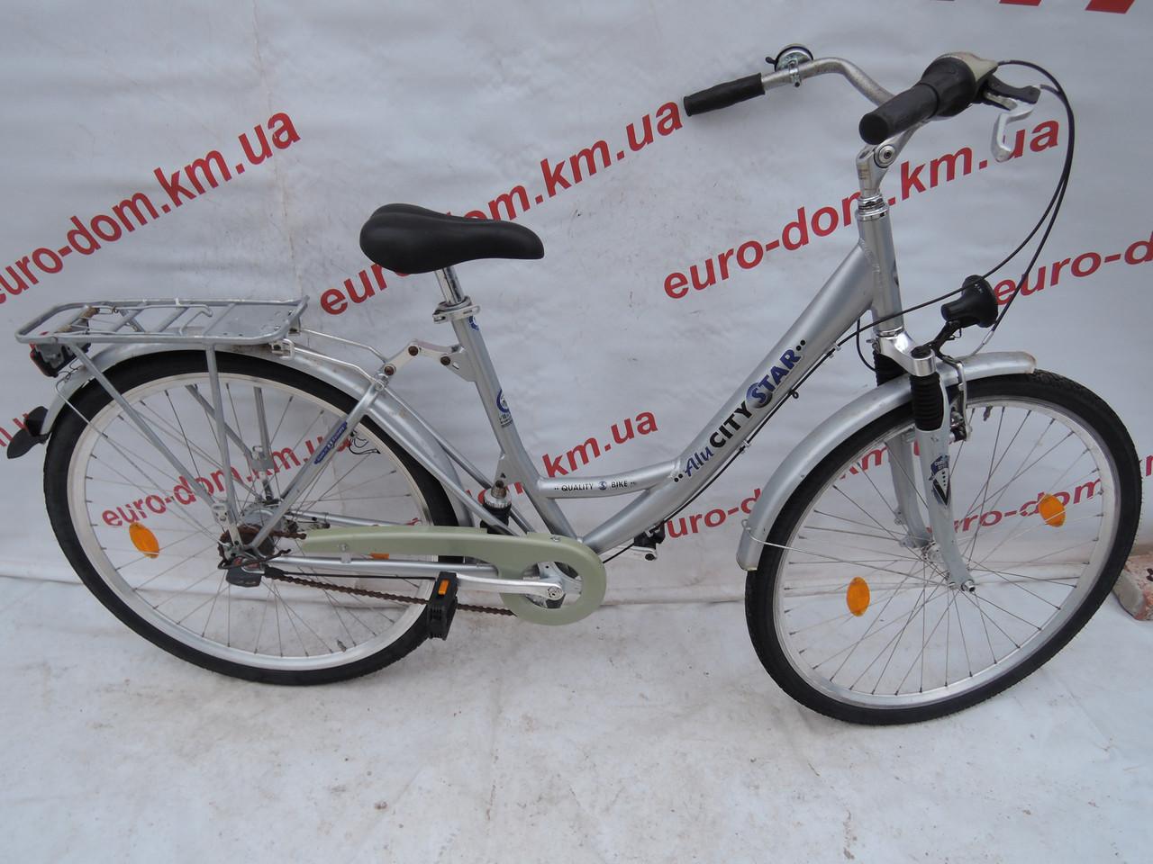 Городской велосипед AluSityStar 28 колеса 7 скоростей на планетарке