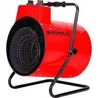 Електрична теплова гармата Grunhelm GPH 9R (9 кВт, 980 куб. м/ч, ~3ф, 380 В) (91071)