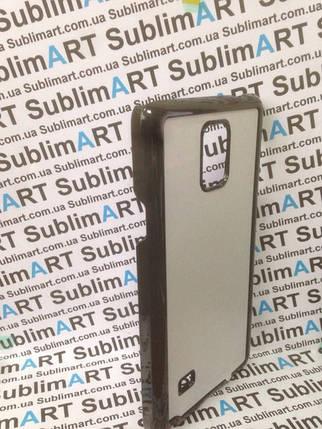 Чехол для 2D сублимации пластиковый на Samsung Galaxy note 4 черный, фото 2