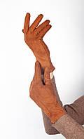 Перчатки FAMO Женские перчатки Тайси ярко-коричневые L L (1-1)