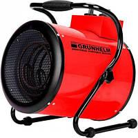 Електрична теплова гармата Grunhelm GPH 5R (5 кВт, 388 куб. м/ч, ~3ф, 380 В) (91069)