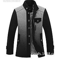 Мужское стильное зимнее пальто   МК 0137-И, фото 1