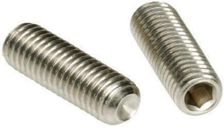 Винт установочный UNC ANSI B18.3 DIN 916 Нержавеющая сталь (A2)