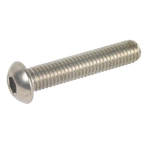 Винт полукруглая голова UNC ANSI B18.3 ISO 7380 Нержавеющая сталь (A2)