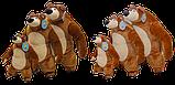 Медведь Мим 40 см, фото 3