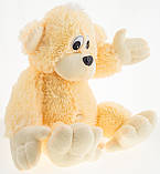 Мягкая игрушка Алина Обезьяна 55 см персиковая, фото 2