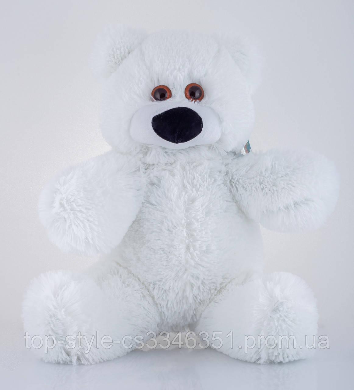 Алина Мишка Бублик 45 см Белый