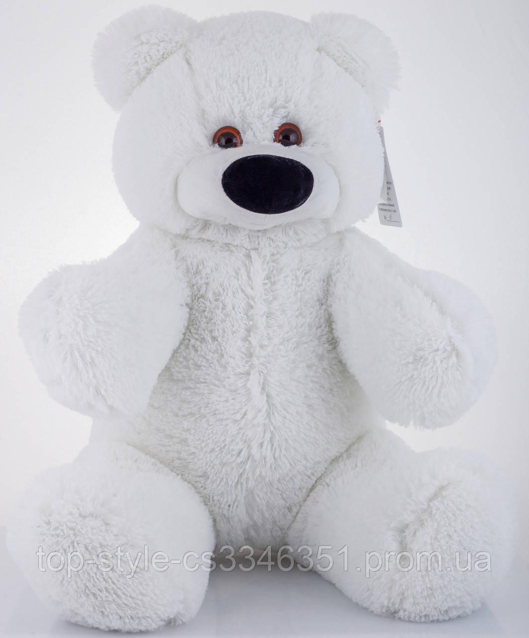 Мягкая игрушка мишка Алина Бублик 70 см белый