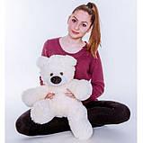Мягкая игрушка мишка Алина Бублик 70 см белый, фото 8