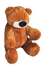 Плюшевая игрушка медведь Алина Бублик 95 см коричневый