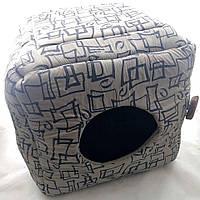 Лежак для собак і кішок Кубик (42х42)