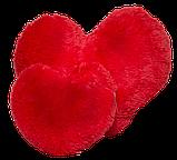 Большая подушка Сердце 75 см красный, фото 2