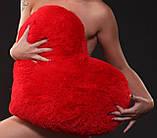 Большая подушка Сердце 75 см красный, фото 3