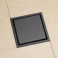 Трап для душа под плитку Rea Neo & Pure Pro 20 cv Черный матовый, фото 1