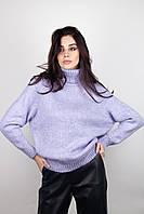 Кофты, свитшоты FAMO Свитер Клауди лиловый One size (4201)