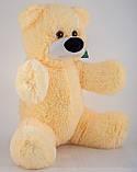 Мягкая игрушка мишка Алина Бублик 70 см персиковый, фото 2
