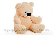 Большой медведь Алина Бублик 200 см персиковый
