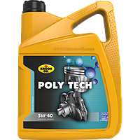 Моторное масло KROON OIL 36140 POLY TECH 5W-40 5 литров